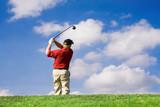 Fototapety golf swing