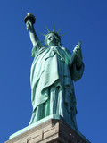 statue of liberty, full poster