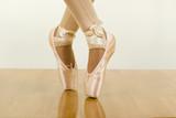 ballet workout; tiptoe poster