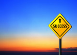 highway to success poster