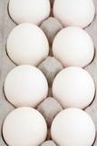 carton and eggs poster
