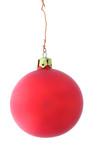 simple mat christmas ball poster