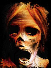 corpse painting