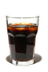 full glass of soda