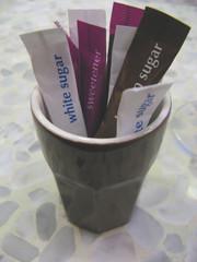 mixed sugar sachet
