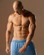 Leinwandbild Motiv male fit