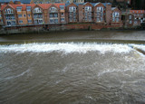 flooded river poster