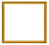xxl size golden square frame poster