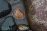 stone rock texture water color agate geology poster