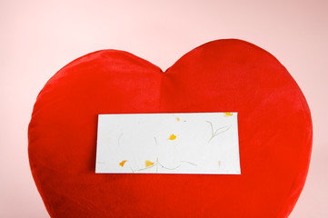 heart & empty envelope