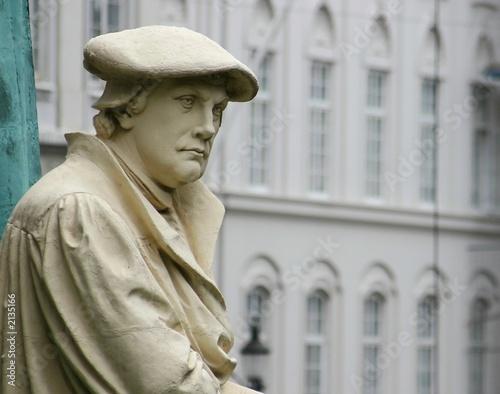Papiers peints Statue martin luther