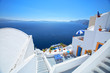 deep blue from santorini