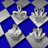 chess game abstract