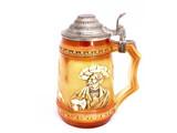 vintage beer mug poster