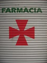 red maltese cross