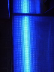laser, blue, pattern, light, dots, regular, pale,