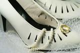 chaussure de mariée poster