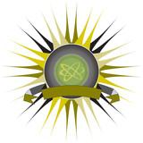 spike logo green poster