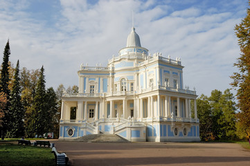 "palace "" katalnaja gorka "" in oranienbaum near st."