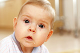 surprised baby poster