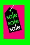 sign. sale poster