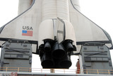 space shuttle replica poster