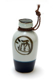 ornamental sake bottle