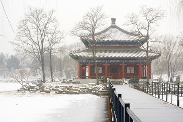 beijing old summer palace