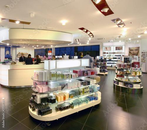 Fototapete Shop - Lädchen - Einkaufszentrum - Poster - Aufkleber