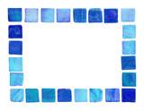 ceramic tile frame poster