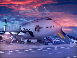 loading the plane