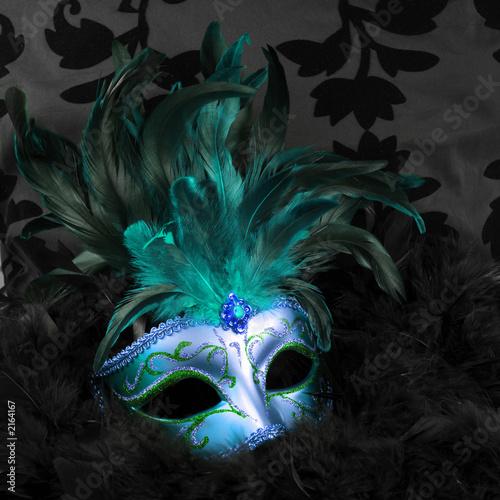 zielona-i-niebieska-tajemnicza-maska-wenecja