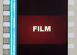 film frame close up