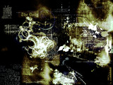 Fototapety abstract photomontage background