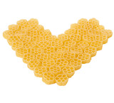 heart made of noodle poster