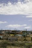 township en afrique du sud poster