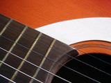 acoustic guitar detail 3