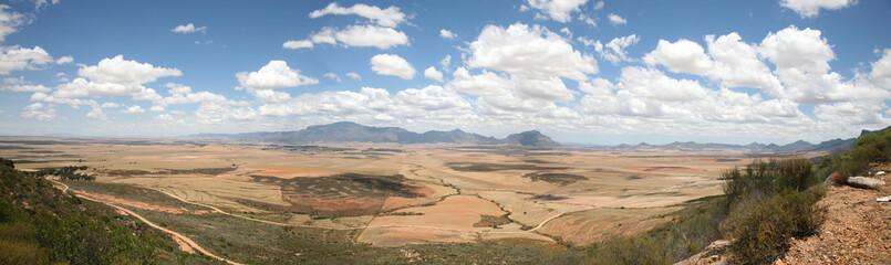 paysage du nord de western cape