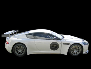 race prepared car