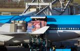 aircraft unloading cargo poster
