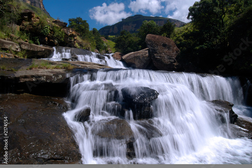 wasserfall im royal natal national park