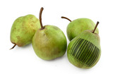 pears with bar code of non-existing product poster