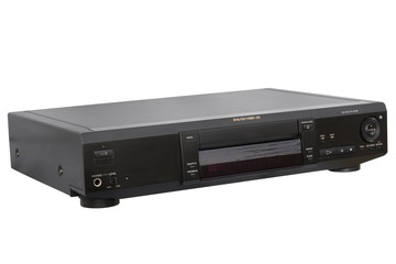 black cd dvd player