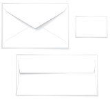envelope layout poster