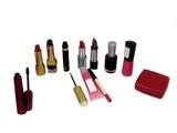 eye,face,and lip make-up. nail polish. poster