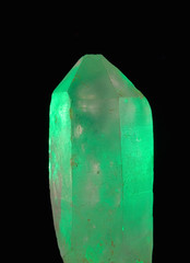 glowing quartz