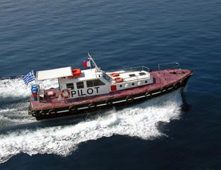 dockmaster's boat
