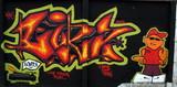 graffiti scratch poster