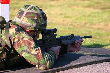 sa80 firing