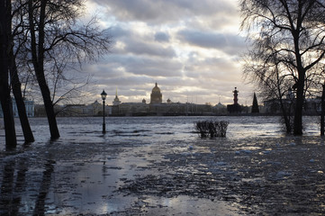 high water in neva